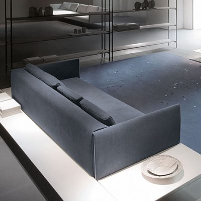 Pillar Modular Sofa – Left Element with Shelves