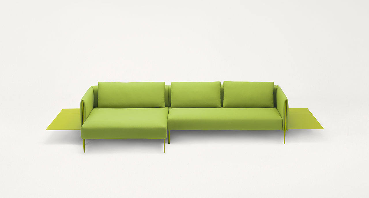 Pillar modular sofa right corner chaise lounge element for Chaise lounge company