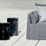Inout Ceramic Ottomans