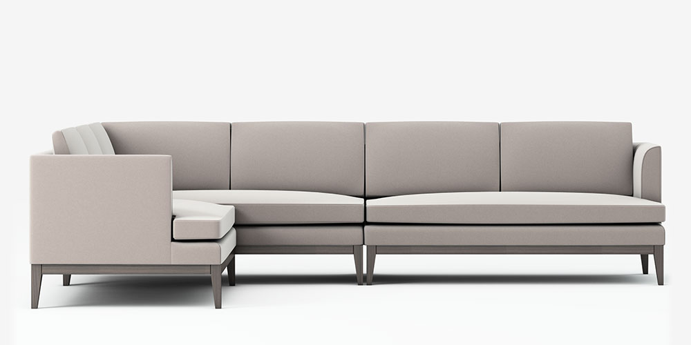 Cherkley Sectional Corner Sofa ...