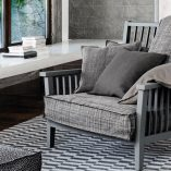 Gray 01 Low Armchair