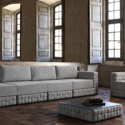 Patch Modular Sofa Central